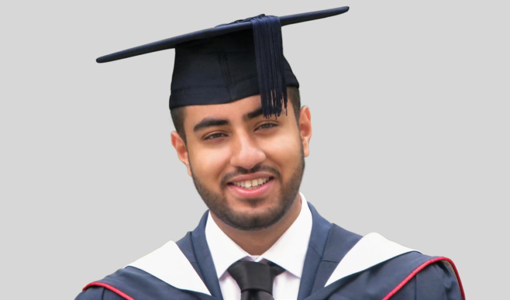 Umar Salim Graduation